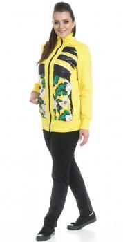 Спортивный костюм For Rest 11006-1 желтый/черный