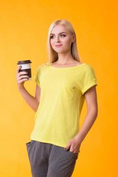 Блузка For Rest 13012 желтый