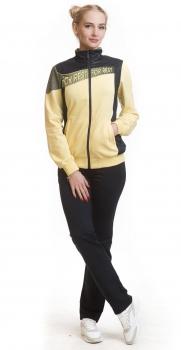 Спортивный костюм For Rest 5255 желтый/черный