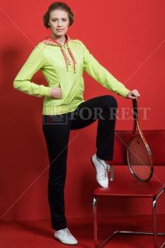 Спортивный костюм For Rest 5536/1-2 салатовый