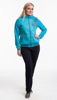Спортивный костюм For Rest 5758-2 голубой/синий