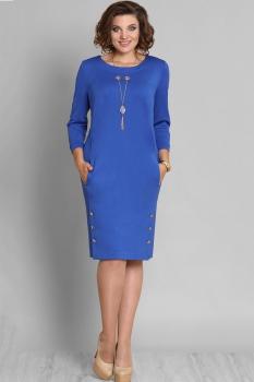 Платье Галеан стиль 588 василек