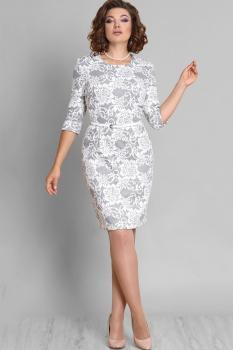 Платье Галеан стиль 594 светлые тона