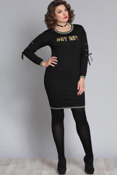 Платье Галеан стиль 602 черный