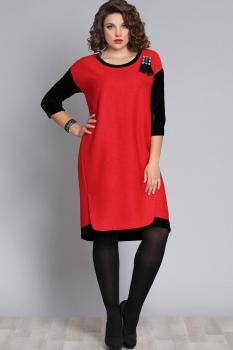 Платье Галеан стиль 606 красный