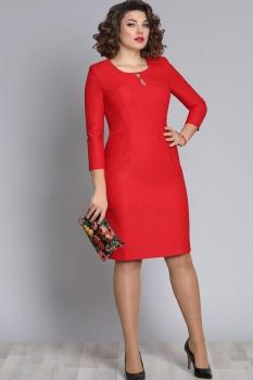 Платье Галеан стиль 607 красный