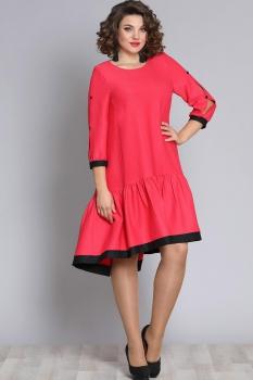 Платье Галеан стиль 610 коралл