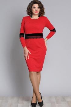 Платье Галеан стиль 611 красный