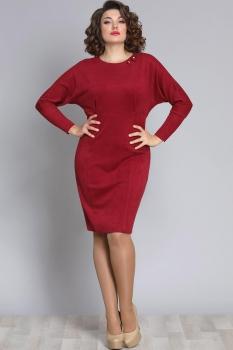 Платье Галеан стиль 612 красный