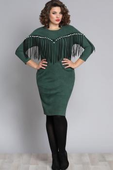 Платье Галеан стиль 615 изумруд
