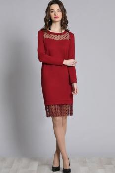 Платье Галеан стиль 620 красный