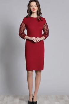 Платье Галеан стиль 621 красный