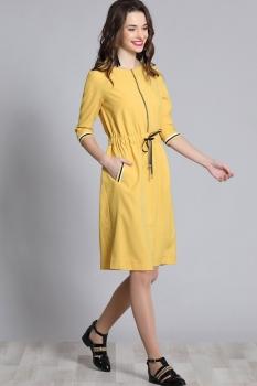 Платье Галеан стиль 623 желтый