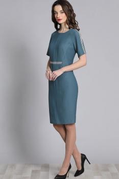 Платье Галеан стиль 628 голубой