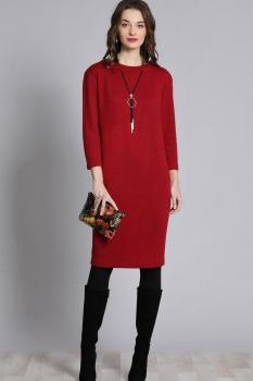 Платье Галеан стиль 629 красный