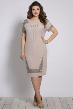 Платье Галеан стиль 635 беж
