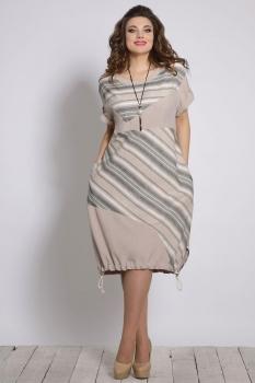 Платье Галеан стиль 641-1 беж