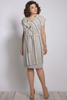 Платье Галеан стиль 652 лен