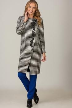 Пальто Glasio 15002 серый