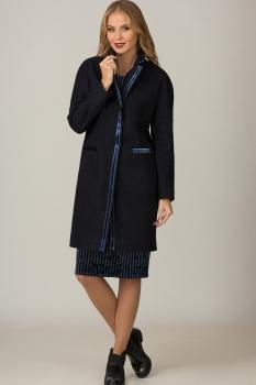 Пальто Glasio 15003 Темно-синий