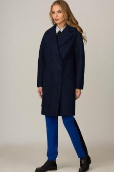 Пальто Glasio 15004-1 синий