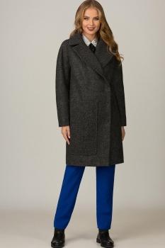 Пальто Glasio 15004-2 серый