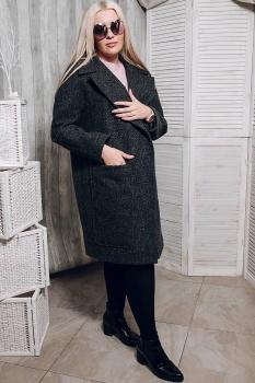 Пальто Glasio 15004х серый