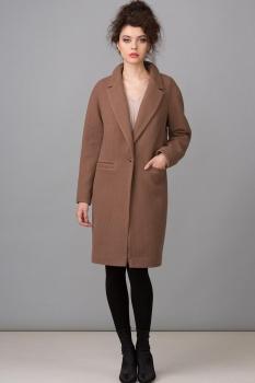 Пальто Glasio 15005 коричневый