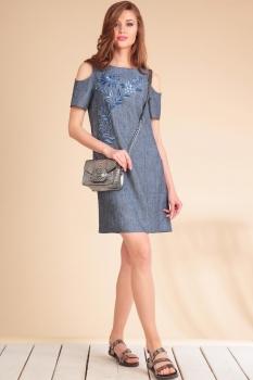 Платье Golden Valley 4390 синий