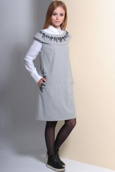 Платье Golden Valley 4414 серый