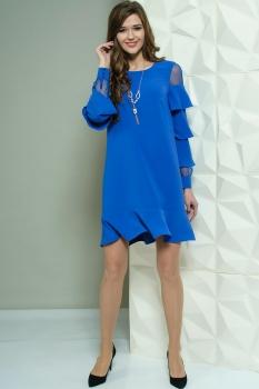Платье Golden Valley 4441 василёк
