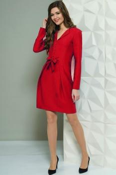 Платье Golden Valley 4447 красный