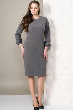 Платье Golden Valley 4450-1 серый