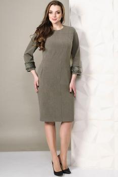 Платье Golden Valley 4450 серо-оливковый