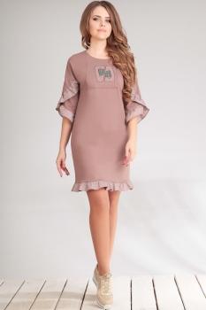 Платье Golden Valley 4456 какао
