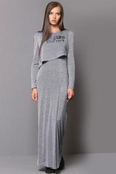 Платье Golden Valley 46114-1 светло-серый