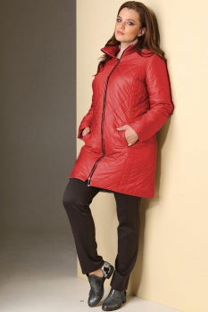 Пальто Golden Valley 7077-1 красный