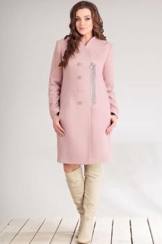 Пальто Golden Valley 7086 розовый