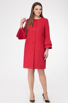 Пальто GOLD Style 2176 красный