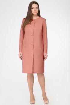 Пальто GOLD Style 2183-1 темно-розовый