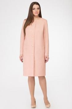 Пальто GOLD Style 2183 розовый