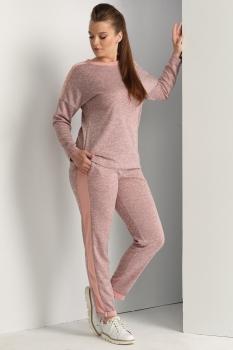 Спортивный костюм ЮРС 17-629-3 розовый