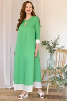 Платье ЮРС 17-685-2 зеленый