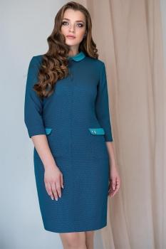 Платье ЮРС 17-733 зелень