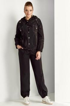 Спортивный костюм ЮРС 17-737 черный
