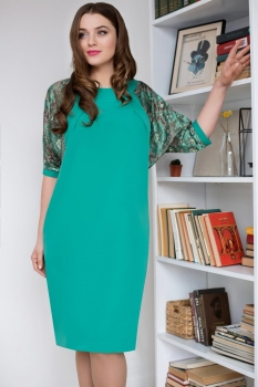 Платье ЮРС 17-760-1 светло зеленый