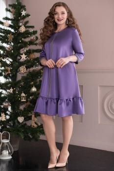 Платье ЮРС 17-766-2 фиолет
