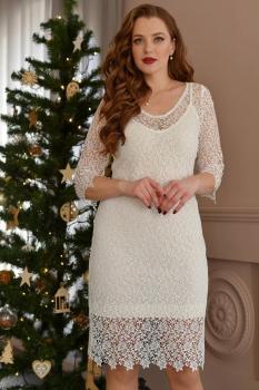 Платье ЮРС 17-775 белый