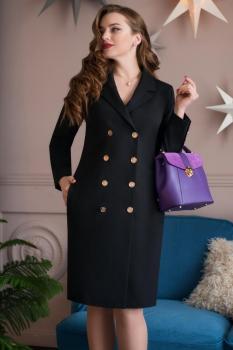 Платье ЮРС 17-778-1 черный