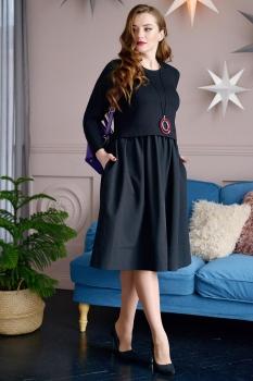 Платье ЮРС 17-779 черный